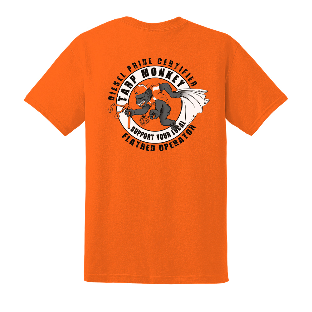 Tarp Monkey: Safety Orange